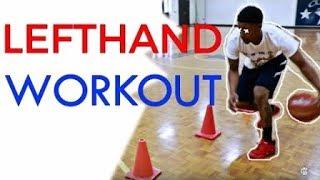 |[籃球教學]中字超詳細超實用的左手運球訓練教學!|