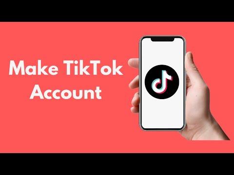 How to Make Tik Tok Account || New Musically Update