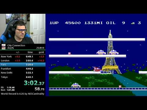 ***NEW RECORD*** (6:23) City Connection any%