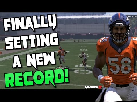 SETTING AN ALL NEW GAUNTLET RECORD!! Madden 17 Gauntlet