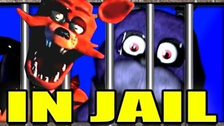 FIVE NIGHTS AT FREDDY'S IN JAIL!? -- Gmod COPS N ROBBERS Mod! 14 (Garry's Mod)