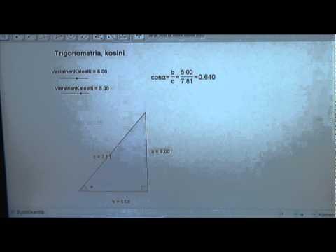 Trigonometriset Funktiot Tehtäviä