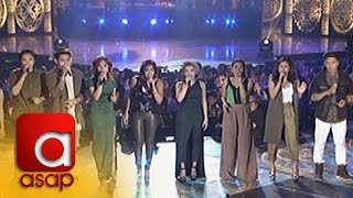 "ASAP: Himig Handog P-Pop Love Song 2016 Interpreters sing ""Mahal Ko o Mahal Ako"""