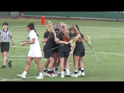 Women\'s Lacrosse: USC 11, Stanford 12 - Highlights 3/25/18