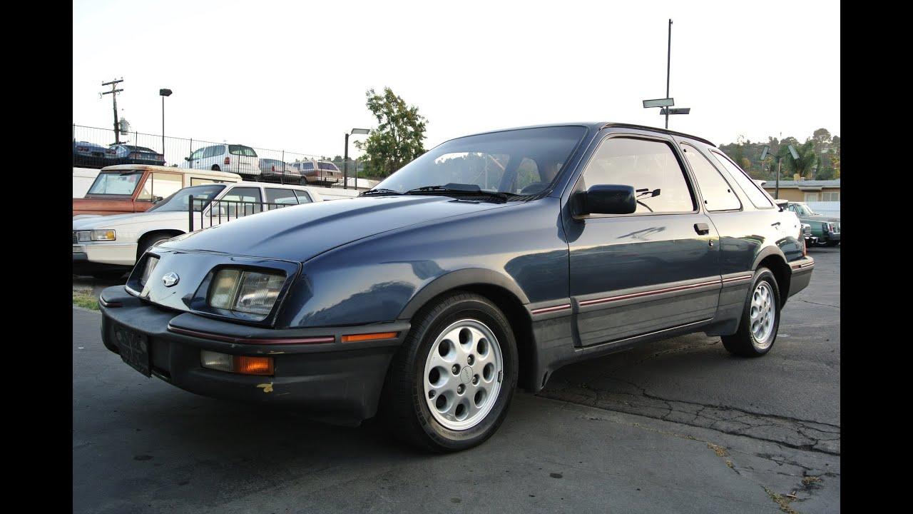 Merkur XR4TI Karmann Ford Sierra Cosworth Turbo Scorpio ...