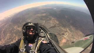 Tom Skrentny-- 2nd L-39 Flight over sunny California!
