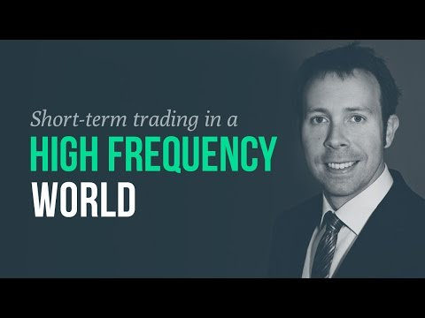 How to be a profitable short-term trader in a high frequency