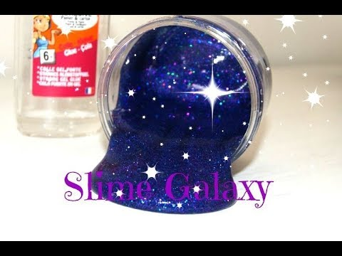 DIY Slime Galaxy - Très facile à faire