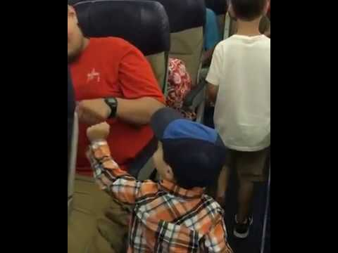 Morgen - Toddler Demands Fist Bumps On Plane