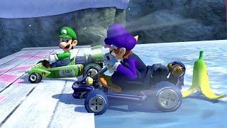 Mario Kart 8 Deluxe - Star Cup 150cc (Waluigi Gameplay)