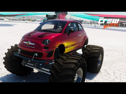 The Crew Fiat 500 Monster Truck Customisation Lucy Collett