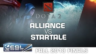 StarTale vs. Alliance - Group A - RaidCall EMS One Fall Finals - Dota 2