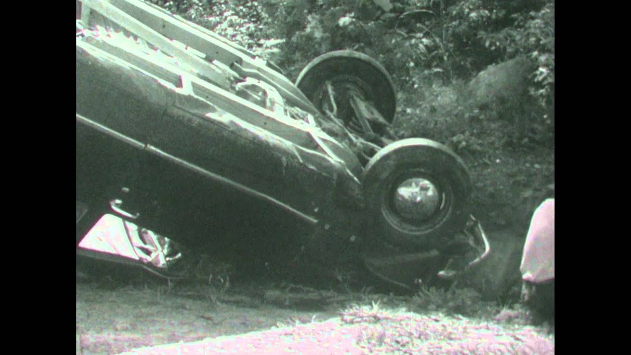 [1950s-1960s Footage of Accidents - North Carolina]