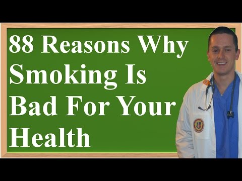 88 Reasons Why Smoking Is Bad For Your Health (and Why You Should Quit)