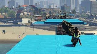 SKILL TEST CON LA MOTO!!! carreras GTA V l GTA 5 Online
