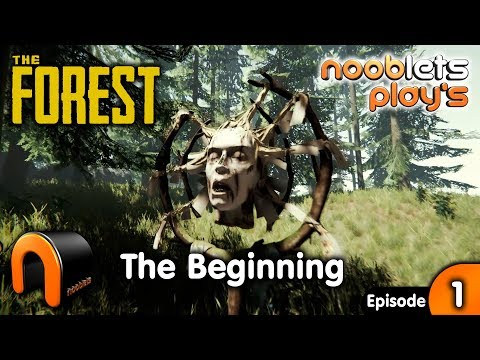THE FOREST The Beginning Ep 1 Nooblets Plays