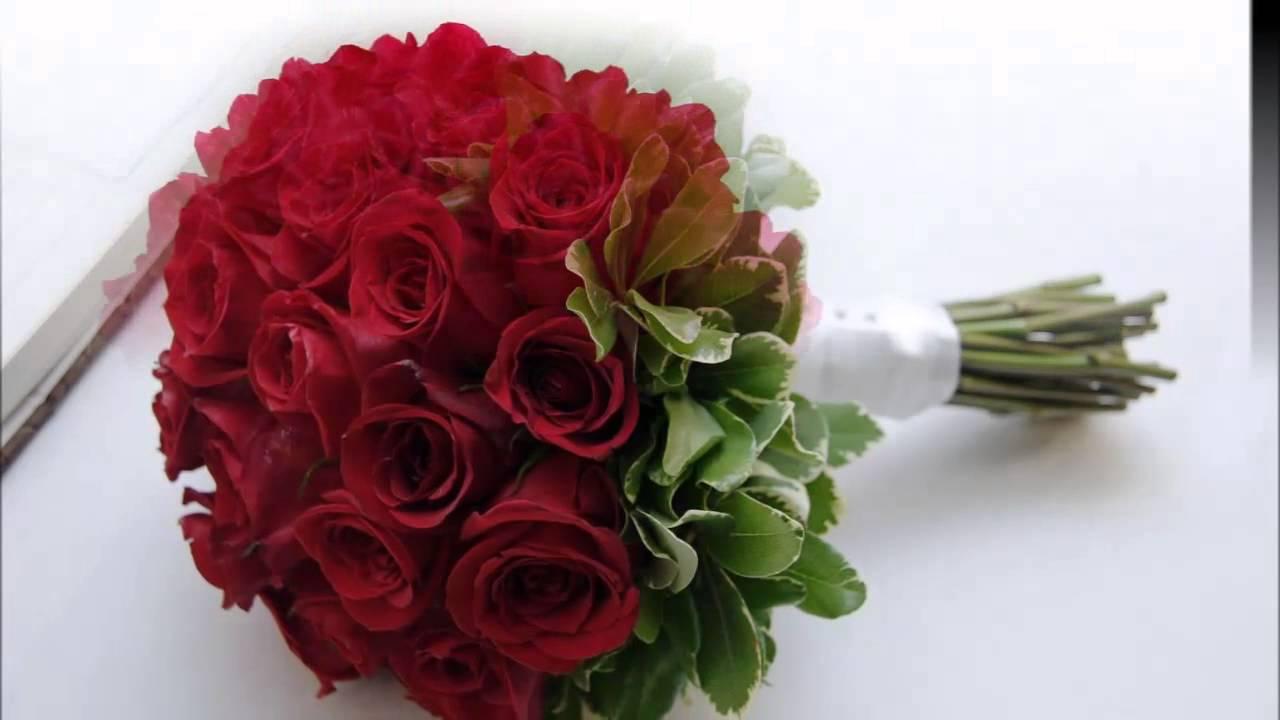 Ramos de novia rosas rojas youtube - Como secar un ramo de rosas ...