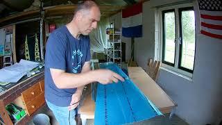 Van's RV-7 Build Fuselage Dimpling Tail (091)