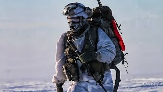 US Paratroopers Extreme Cold Jump • North Of Arctic Circle