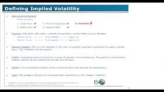 Stefen Choy on Defining Using Implied Volatility to Trade FX Options 1
