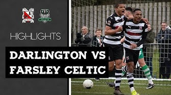 Darlington 2-4 Farsley Celtic - Vanarama National League North - 2019/20