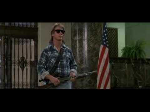 "RIP - Rowdy Roddy Piper. Classic one liner from ""They Live"""