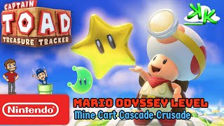 Captain Toad Treasure Tracker - Mine Cart Cascade Crusade