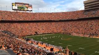 Tennessee Volunteers season opening kickoff 2014 vs the Utah State Aggies