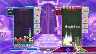 Puyo Puyo Tetris - game mode demonstrations