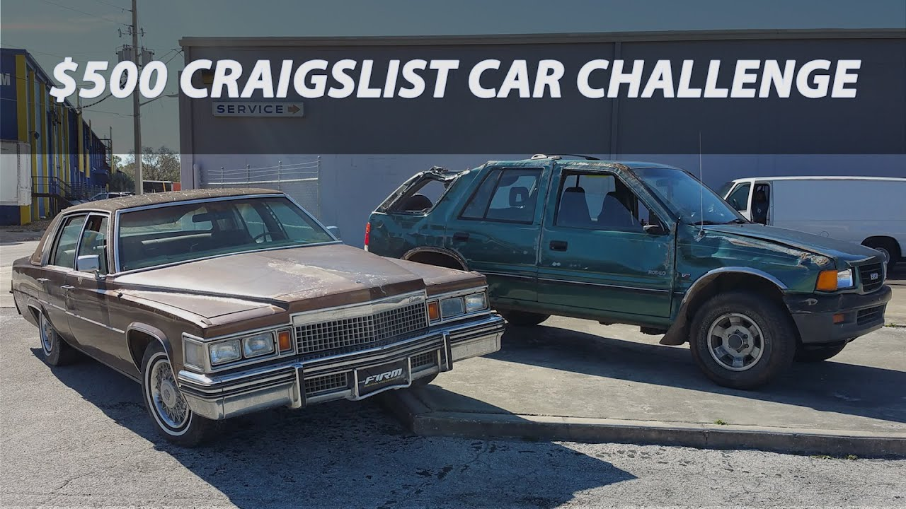 $500 Craigslist Car Challenge ep1 - YouTube