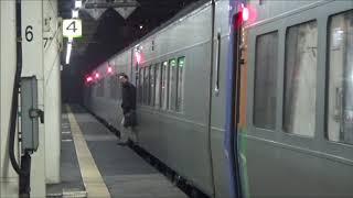 【JR北海道南千歳駅】快速エアポート&S北斗到着~発車