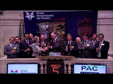 Grupo Aeroportuario del Pacífico Visits the NYSE