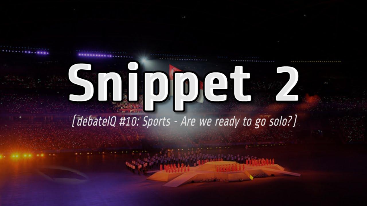 Should we change our mindset on sports debateiq 10 snippet 2