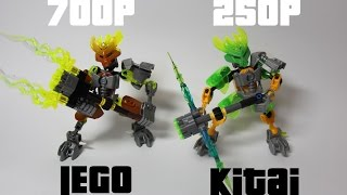 Сравнение Китайский клон и LEGO(Какое ваше мнение? Еслень пень LEGO лучше, однако цена кусает. Биониклов скорее всего больше не будет, да и..., 2015-10-22T18:38:03.000Z)