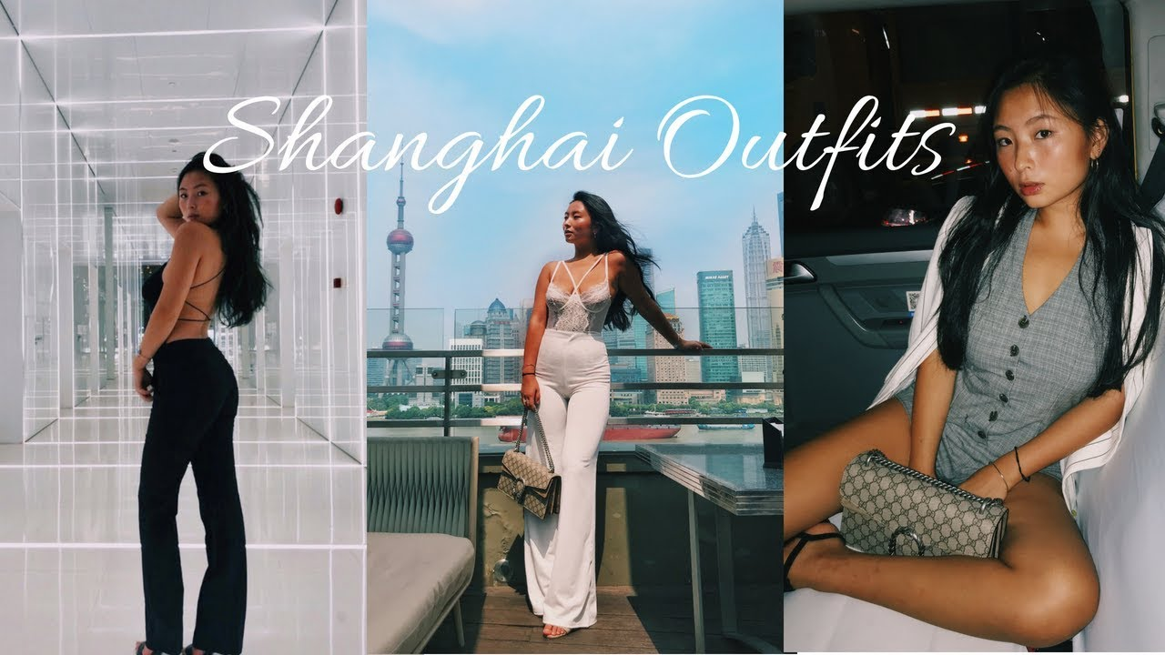 Summer Outfit Lookbook 2018 – @Shanghai, China || Baddie Instagram Trendy Outfit Ideas