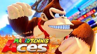 EL PARTIDO MÁS INTENSO DE MARIO TENNIS ACES | Nintendo Switch