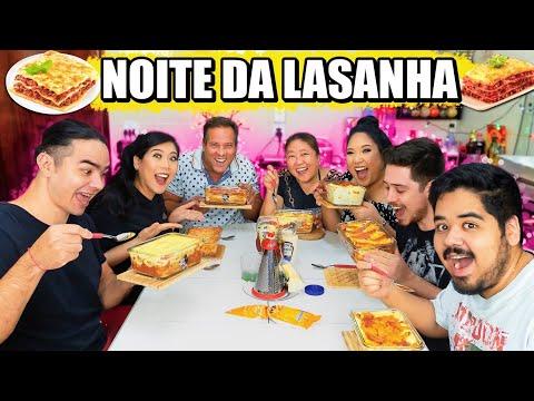 NOITE DA LASANHA COM A FAMÍLIA   Tia do joinha