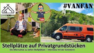 Private Stellplätze in Deuts¢hland | Wildcamping | Gastgeber für Wohnmobile