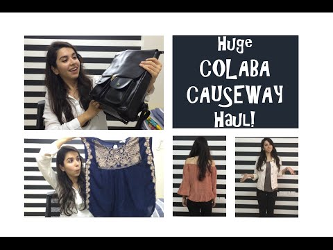 Huge Colaba Try On Haul - My First Time | Heli