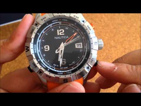 31c7d61b67cb Reloj A21034G Tide Temp Compass de Nautica Naranja