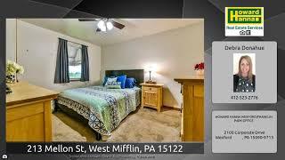 213 Mellon St, West Mifflin, PA 15122