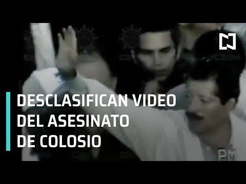 Desclasifican video del asesinato de Colosio - Por Las Mañanas