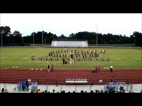 Mcintosh County Academy at the Southeast Bulloch Band Blast 2014