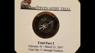 Steven Avery Trial News Coverage Disk 2