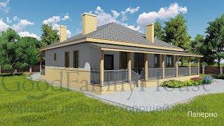 Проект дома Палермо (одноэтажный дом до 120-125 квм).Часть 1(, 2016-02-20T16:01:12.000Z)