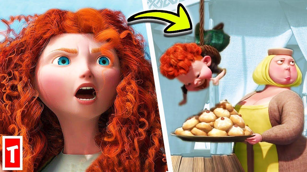 Download 11 Funniest Scenes From Disney's Brave