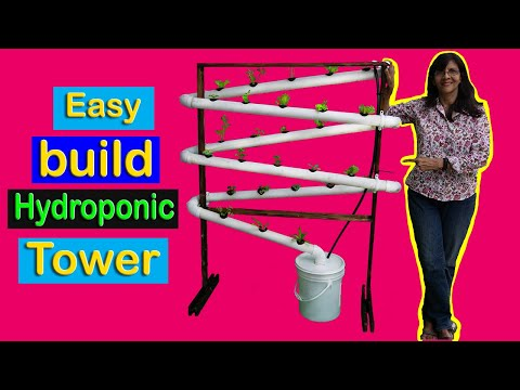 DIY Hydroponic Tower NFT System