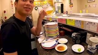 thử thách ăn sushi với cá sống của nhật