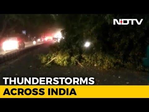 Several Killed As Storm Hits UP, Andhra, Telangana And Delhi
