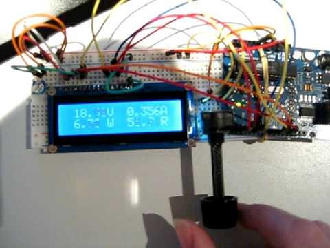 Digital Volt Meter Arduino Youtube